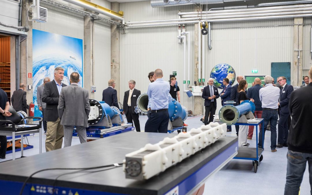 Grand opening for major investmenton water treatment systems